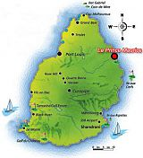 Le Prince Maurice Location map