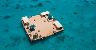 Incredible Private Floating Beach Experience