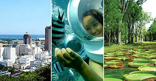 Underwater Walk–North Tour–Port Louis-Shopping-1 Day Package