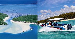 Private Speed Boat - East Coast (Ile Aux Cerfs, Blue Bay...)