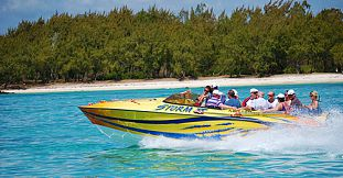 Speed Boat Trip To Ile Aux Cerfs Island, Live Music...