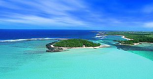 Ile Des Deux Cocos Island with VIP Villa Day Use