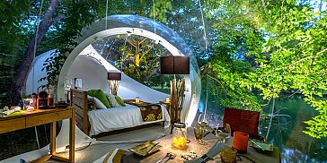 Bubble Lodge - Ile aux Cerfs