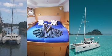4-Day Shared Luxury Catamaran Cruise along West & North Coasts