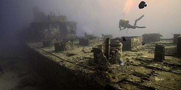 Wreck Diving in Mauritius