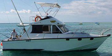 Deep sea fishing at black river 40ft boat full day for Deep sea fishing boat for sale