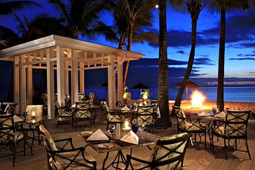 Mauritius sugar beach resort restaurant