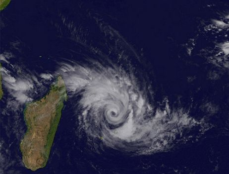 Cyclones in Mauritius