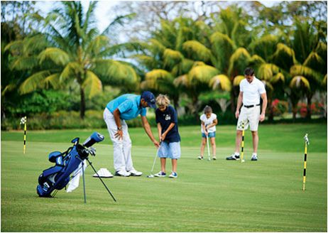 About Mauritius Golf
