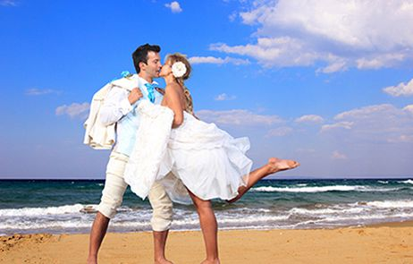 Bon Azur Beach Wedding