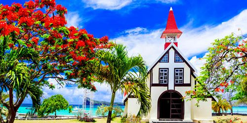 Red Church at Cap Malheureux