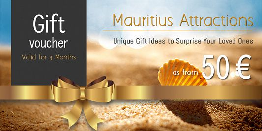 Mauritius Attractions - Gift Voucher
