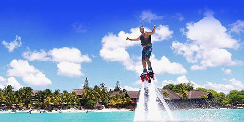 Fly like Iron Man n' Dive like a Dolphin-Flyboard Mauritius
