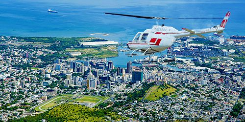 Mauritius Cities & Coastlines - Helicopter Tour from LUX G.Gaube