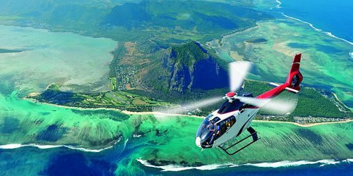Ultimate Helicopter Sightseeing Tour in Mauritius- Shared Basis