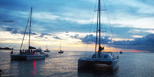 Private Catamaran 2 Hours Sunset Cruise - West Coast