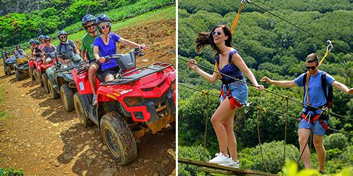 Nature Adventure Package (Quad Biking, Zip Lines)