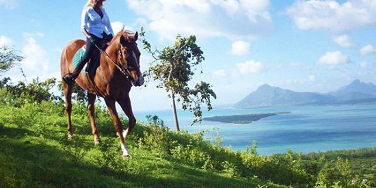 Private Horse Riding At Le Morne Mountain