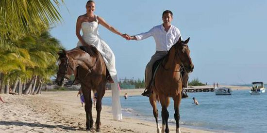 Horseback Beach Riding & Sunset Catamaran Cruise