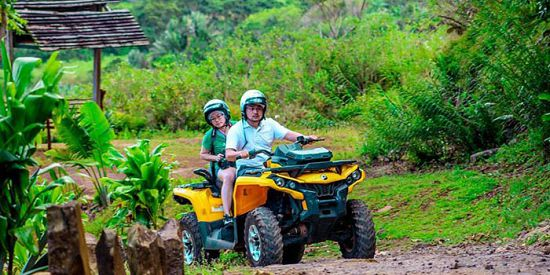 Quad Biking & Buggy at Vallée des Couleurs