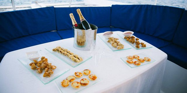 Catamaran sunset cruise gastronomic dinner (8)