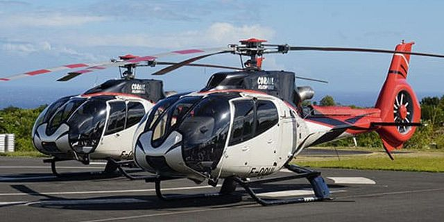 Group helicopter airport transfer (4)
