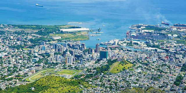 Helicopter aerial photography filming in mauritius (2)