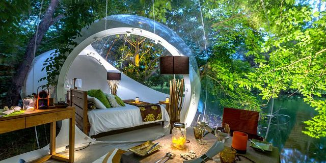 Bubble lodge ile aux cerfs island (2)