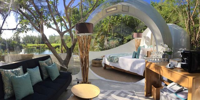 Bubble lodge ile aux cerfs island (3)