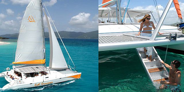 Luxury catamaran cruise ile aux cerfs (1)