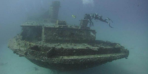 7 ship wreck in mauritius