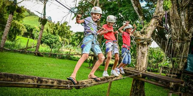 Kids Adventure Park on the East Coast - Mauritius Attractions