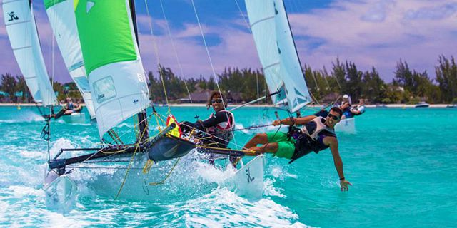 Windsurfing beginners lesson at mont choisy (2)