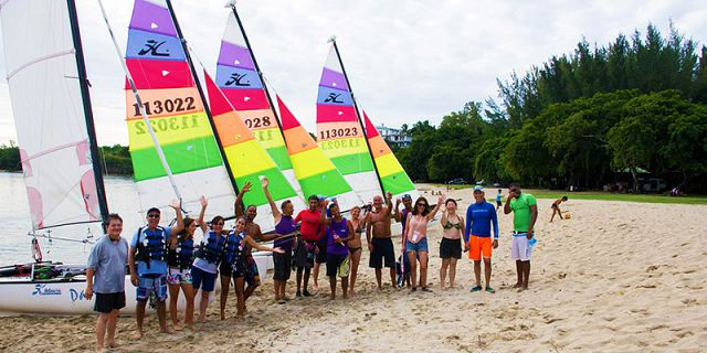Windsurfing beginners lesson at mont choisy (3)