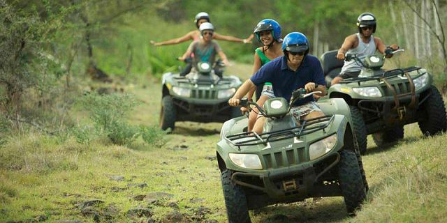 Quad biking adventure