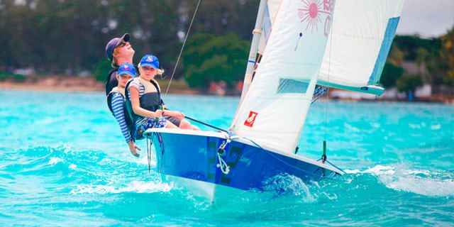 Laser sailing for experienced sailors (3)