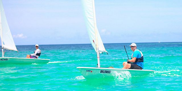 Laser sailing for experienced sailors (4)