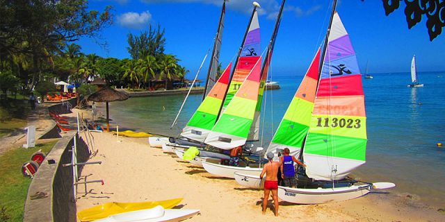Half day of water activities hobie cat windsurfing sup (1)