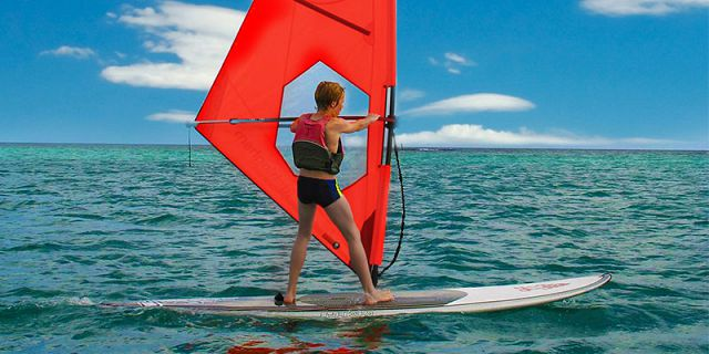 Half day of water activities hobie cat windsurfing sup (6)