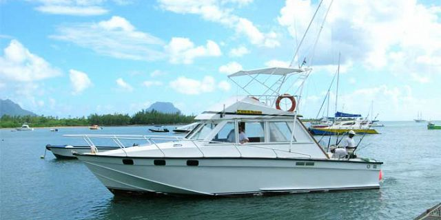 Deep sea fishing at black river 40ft boat full day for Boat fishing games