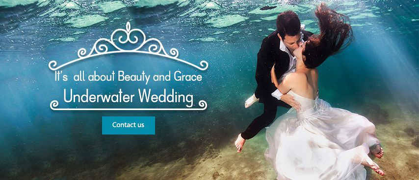 Underwater Weddings in Mauritius
