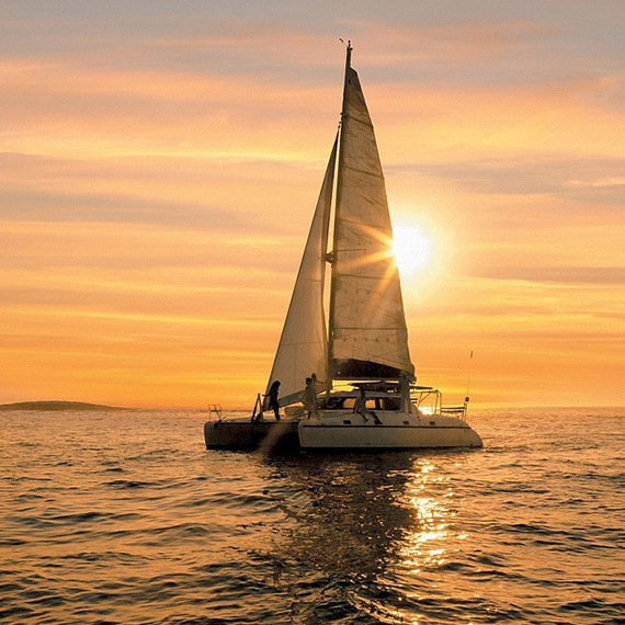Experience a Romantic Sunset Catamaran Cruise  – Grand Bay