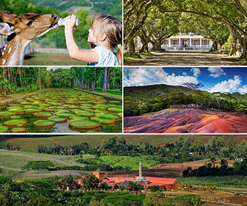 Mauritius Attractions - Parks, Reserves and Sites