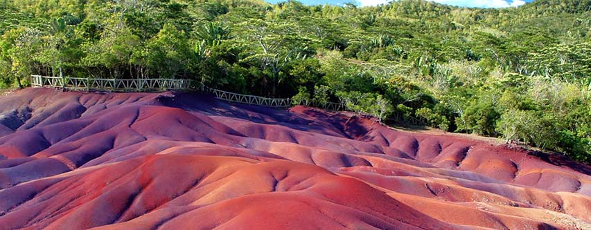 Chamarel Seven Coloured Earth