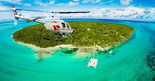 Mauritius Coastline And Islets Tour - Helicopter Flight