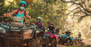 Half Day Quad Bike Trip in the South of Mauritius