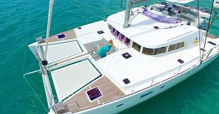 Overnight Private Luxury Catamaran Cruise