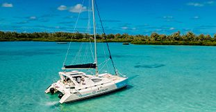 Catamaran Cruise To Ile Aux Cerfs (From Trou d'eau Douce)