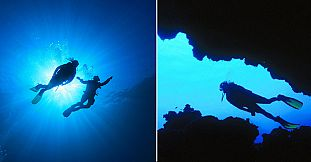 Caves Diving In Mauritius - 2 Dives Package (Special Dives)