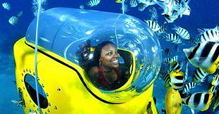 Mauritius Underwater Activities Submarine Subscooter